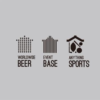 スポーツビアバーのためのロゴ
